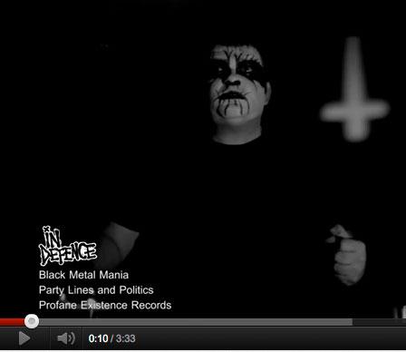Black-metal-video