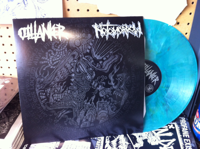 Oiltanker / No Tomorrow split LP