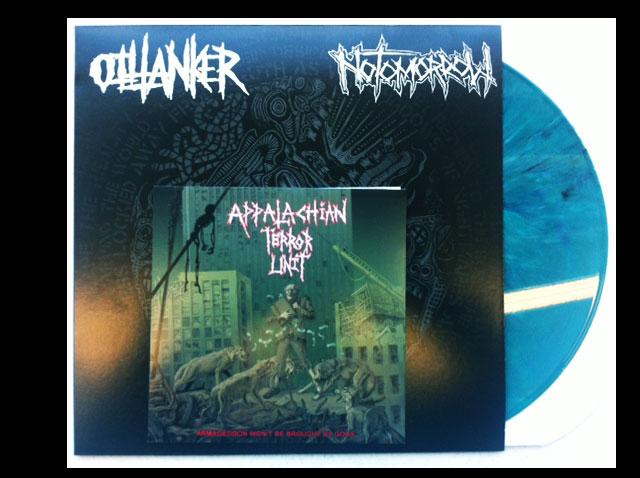 "Oiltanker / No Tomorrow Split LP & ATU 7"""