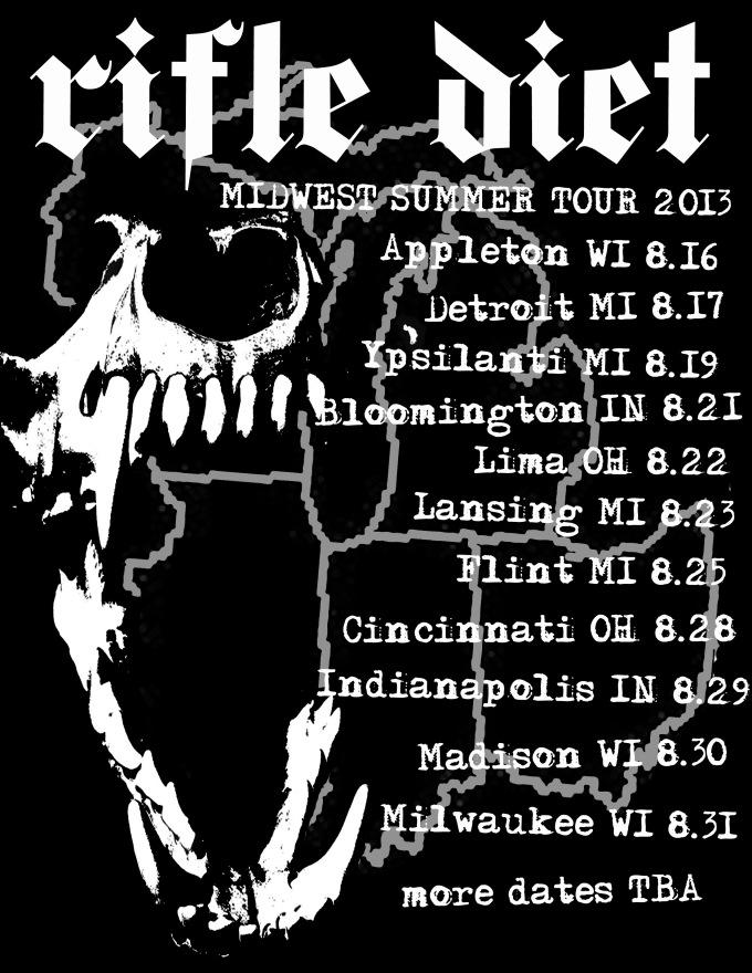 Summer Tour 8-13