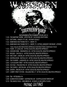 Wartorn Tour 2013