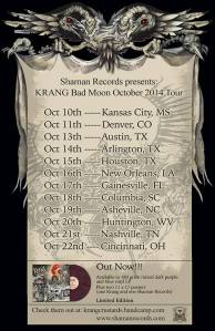 krang tour poster