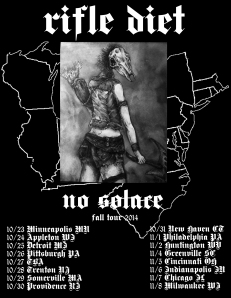 Rifle diet2014 Fall Tour Poster