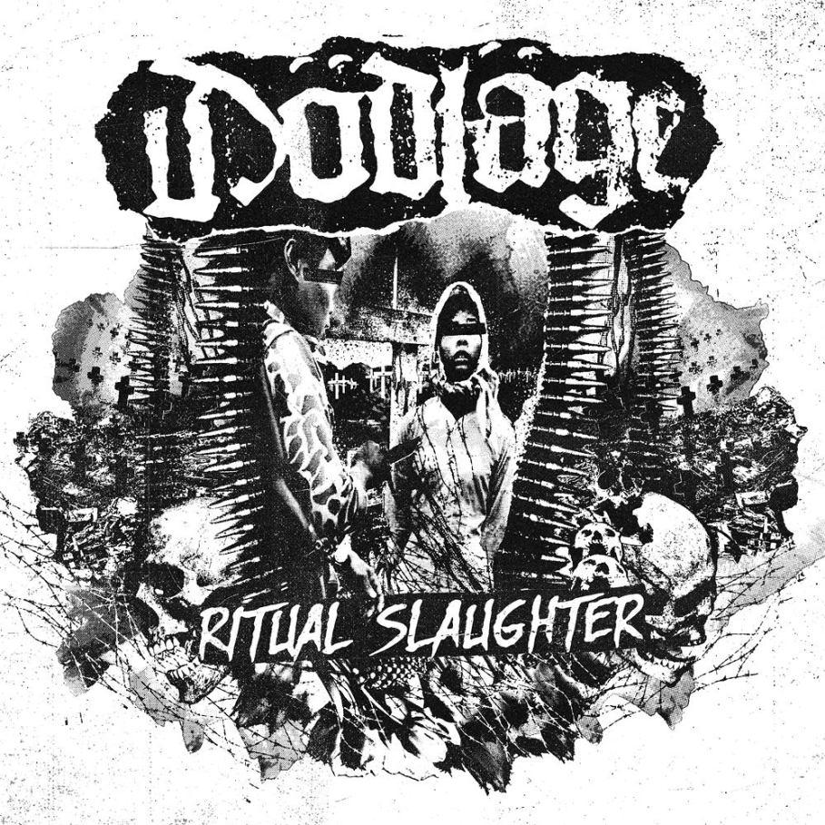 DÖDLÄGE - %22Ritual Slaughter%22 LP cover