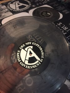 "See through ""Smoke"" vinyl. Available at SKULLFEST record release show."